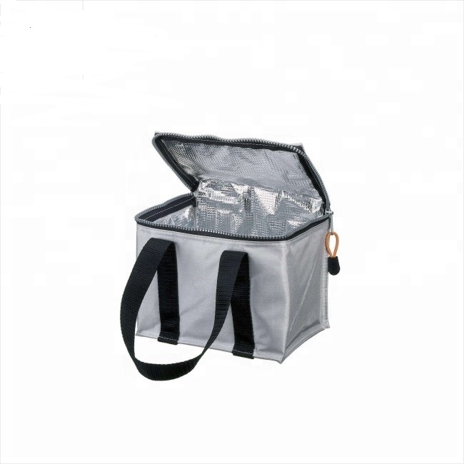 Factory Price Wholesale Promotional waterproof nylon webbing Reusable insulated lunch bag