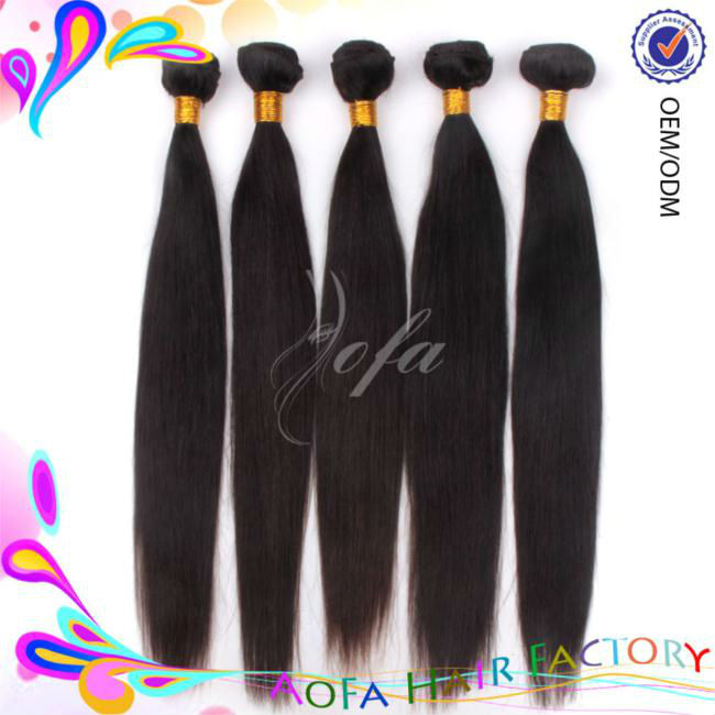 2014 top quality 5a unprocessed mongolian hair natural straight