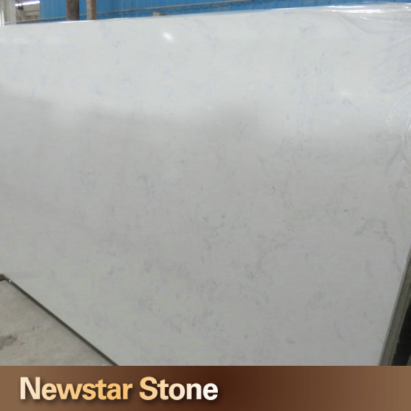 Jumbo size big slab manufacturer engineered quartz stone