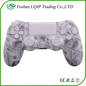 $100 Shell For Ps4 Controller Custom Replacement Hydro Dipped 100 Dollar  Shell Mod Kit + Buttons - Buy $100 Shell For Ps4 Controller,For Ps4 Hydro