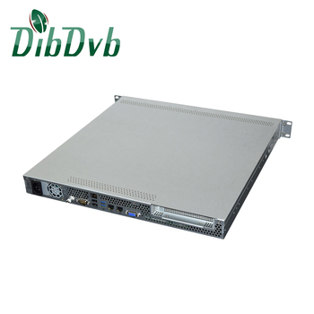 IP streaming 75 channels h.264 ip streaming video transcoder for digital broadcasting live video system