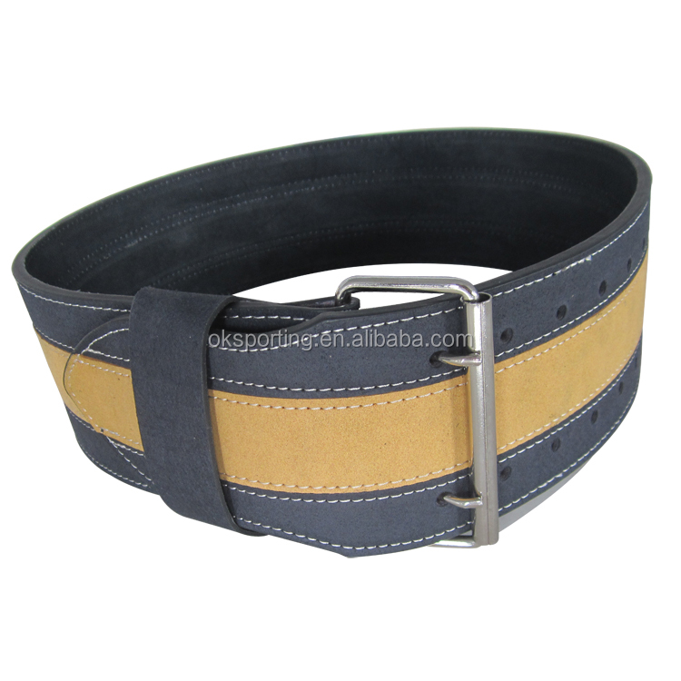 China Wholesale Gym Fitness Heavy Duty Leather Weight Lifting Belt
