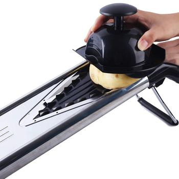 V Blade Stainless Steel Vegetable, Fruit,Julienne and Mandoline Slicer