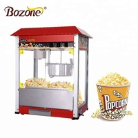 China CE Approved Industrial Snack Equipment Automatic Sweet Cheap Price Popcorn Maker Commercial Gas Popcorn Machine
