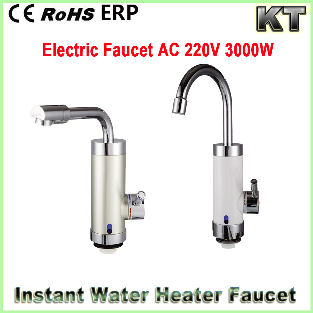 220v 110v 3000w Tankless hot sale electric faucet instant heating water tap