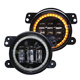 "LOYO Osram 4"" 30w DRL Motorcycle LED Fog Light for Jeep Wrangler JK"