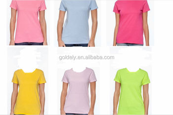 Cheap solid color shirts for women 2017 womens plain tee for Cheap plain colored t shirts