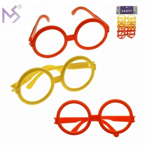 Party supplies wholesale china plastic toy eyeglasses for sale