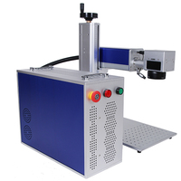 Metal And Plastic 20W 30W 50W Fiber Laser Marking Machine For Dog Animal Tag