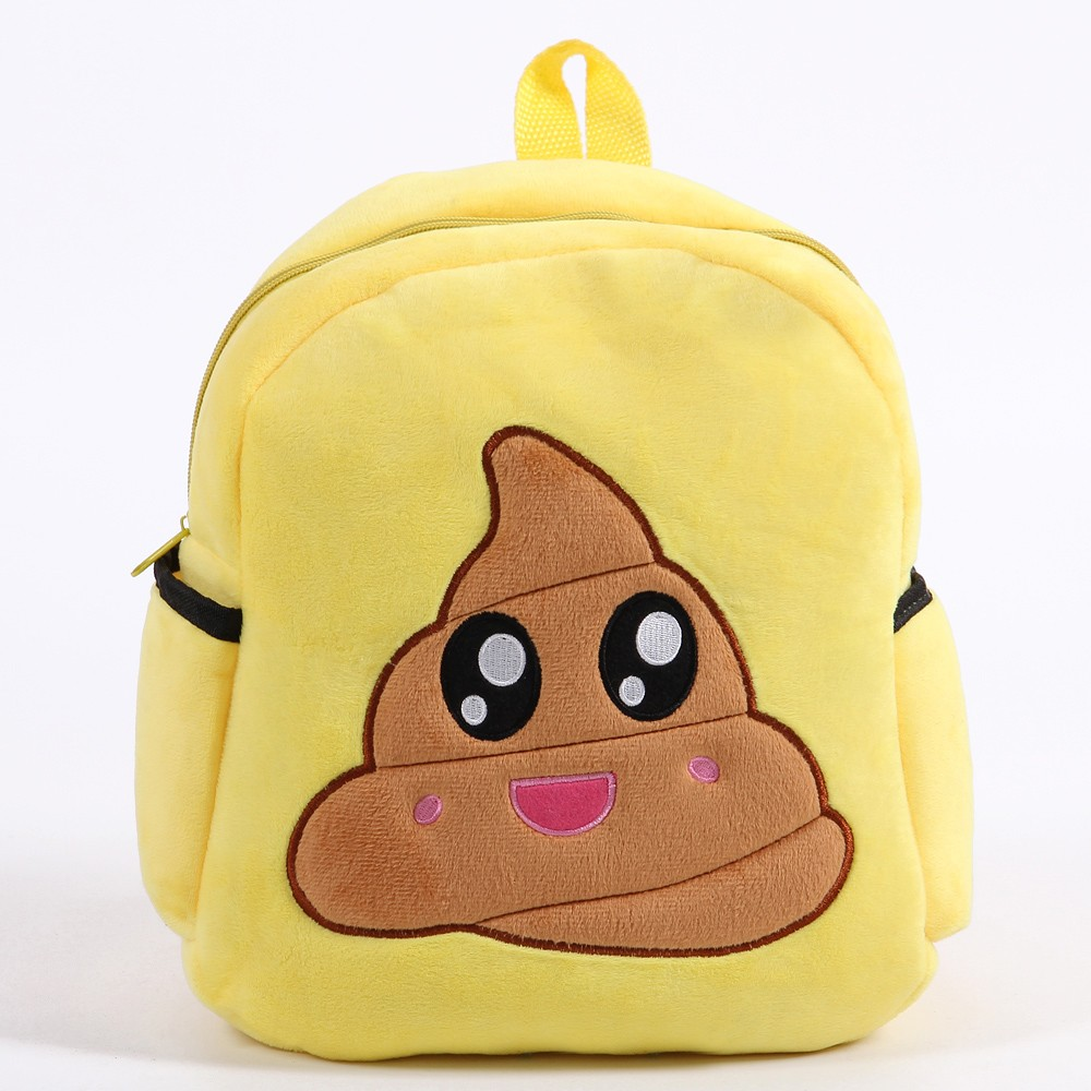 Emoji Book Bags Leather Travel Bags For Women