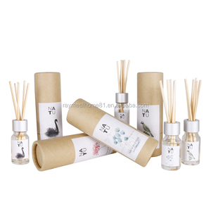 mini 10ml glass bottle home fragrance reed diffuser gift