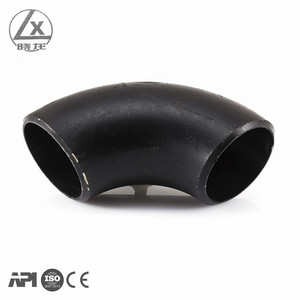 hot sale ASTM A234 WPB 90D LR elbow