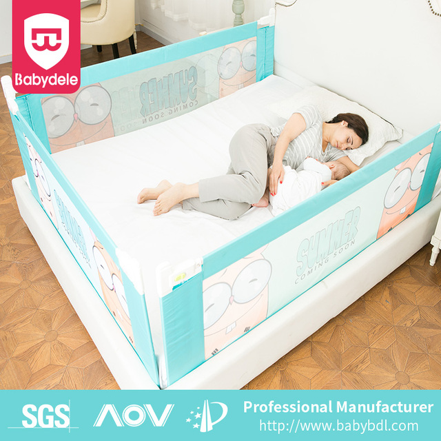 Baby Safety Bedrail Folding Bed Rail Crib Products