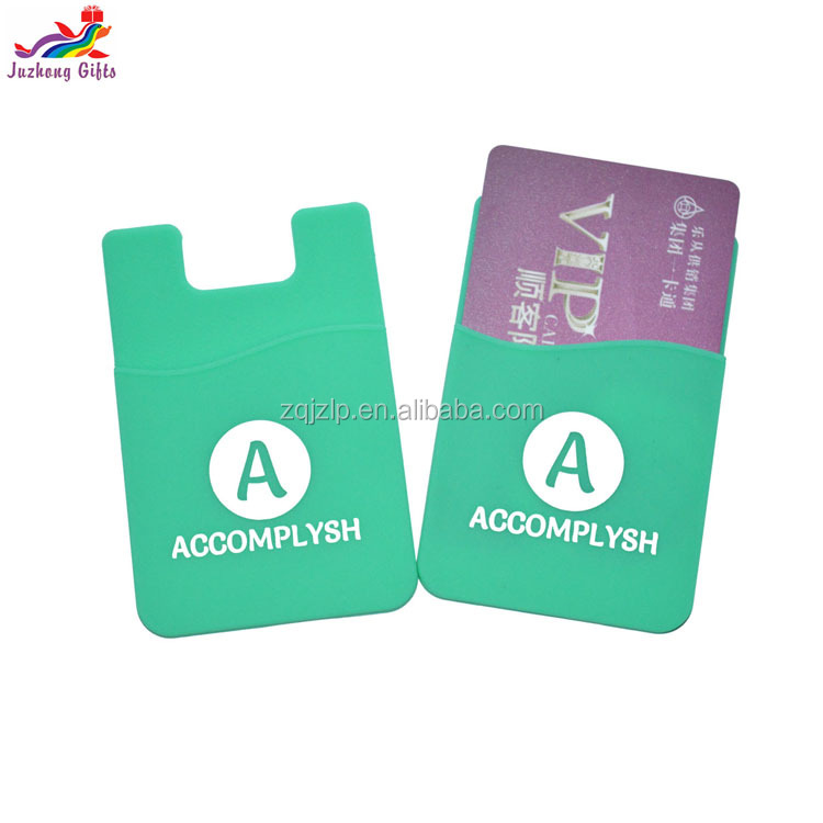 2017 Latest wholesale credit card holder,silicone mobile phone holders,waterproof wallet