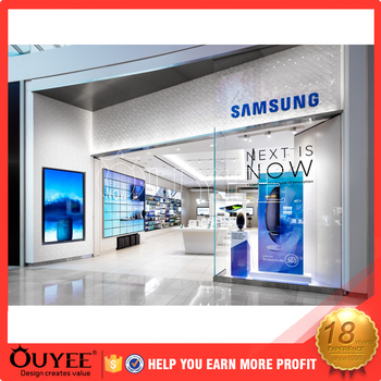 Showroom furniture mobile phone shop interior design buy for Mobile furniture design