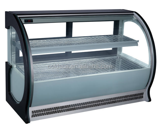 Table top deli warmer showcase/cake display cooler(CE)