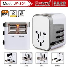 Smart ic universal adapter/usb travel adaptor/travel charger with usb
