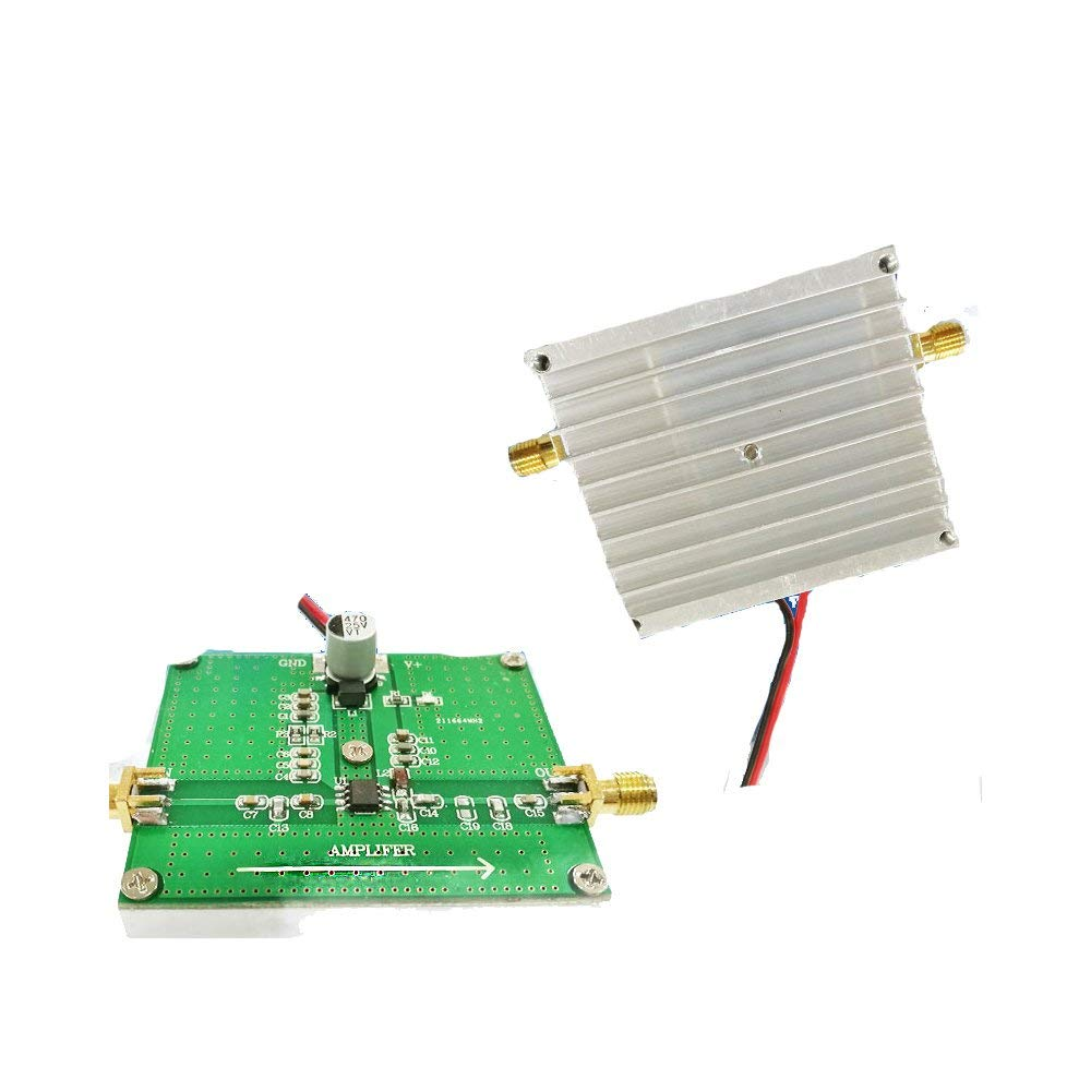 Cheap Broadband Rf Power Amplifier Find 8w Fm Get Quotations Taidacent High Frequency 2w 450m 2000m