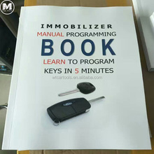 A detailed book about immobilizer manual programming