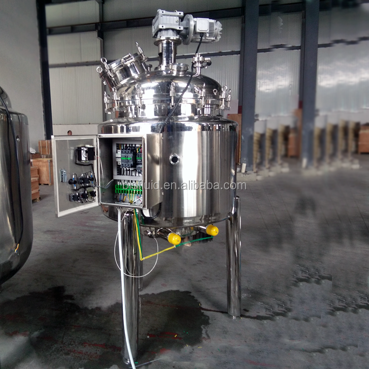 stainless steel industrial rat glue making machine with mixer