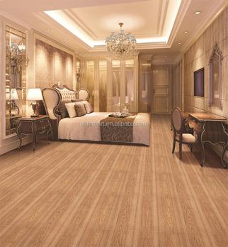 China Wood Color Ceramic Porcelain Floor Tiles