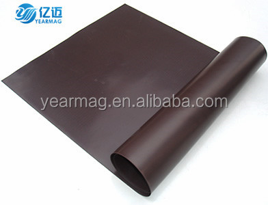 Custom Made Flexible Rubber Magnet Sheet Anisotropic for Promotion