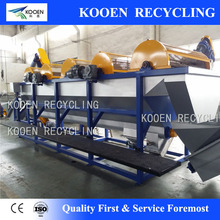 High speed pet bottle crushing washing and recycling line