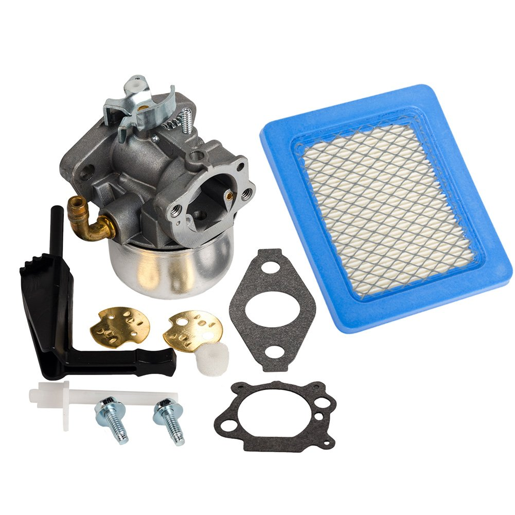 HIFROM Carburetor Carb with Gasket 491588s air filter For Briggs & Stratton 798653 Carburetor Replaces 696981 698859 693865 697354 790182 790180
