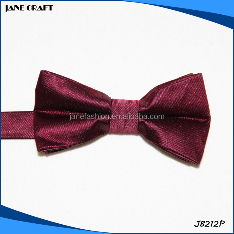 Wholesale Fashion 100% Polyester Bow Ties