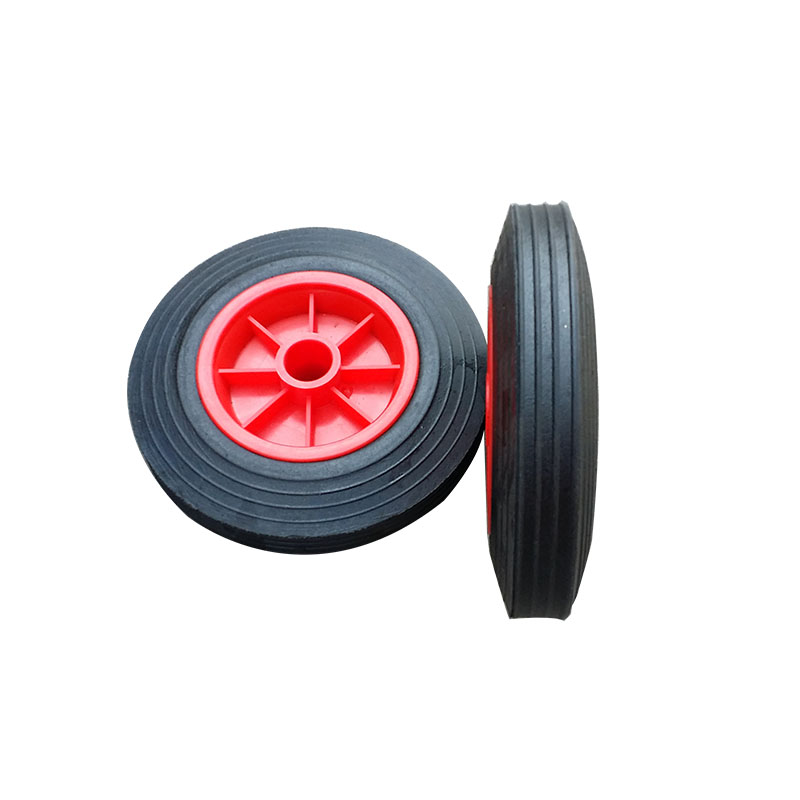Wear resistance 6*2 150mm solid wheel for trash can