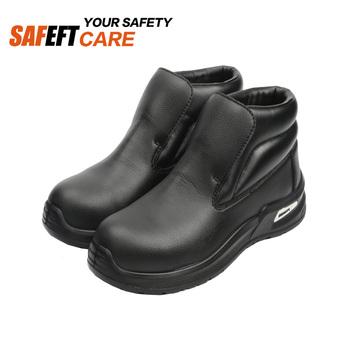 Black Hospital Kitchen Kfc Non Slip Work Safety Shoes Buy Black