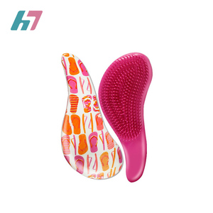 2019 good quality fashion Beautiful hairbrush scalp massage hair brush comb