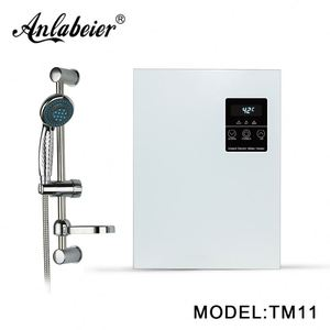 Water treatment systems camping hot water shower instant tankless 1kw to 11kw gleamous heater electric