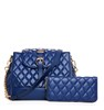 Diamond-stitched Tote Bag Quilted Set Bag Fashionable Quilted Bag