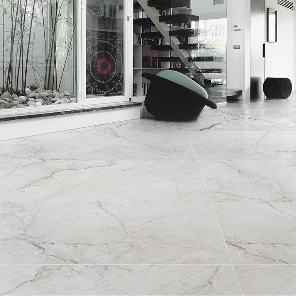 1800 X 900mm Cheap Polished Wall Concrete Large White Gloss Floor
