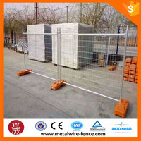 Australia Standard Removable Galvanized Swimming Temporary Fence