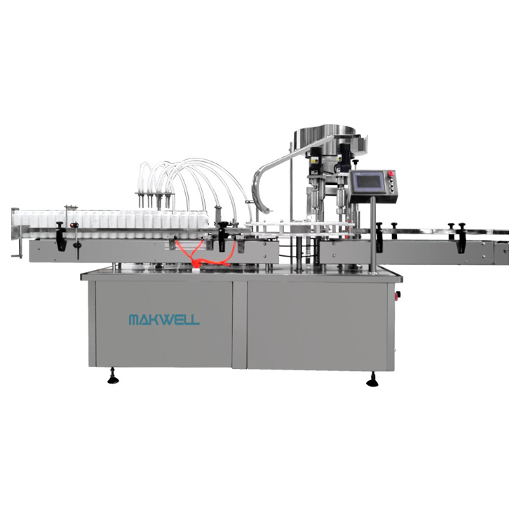 glass bottle washer and filler/wine filling and capping machine with CE certificate
