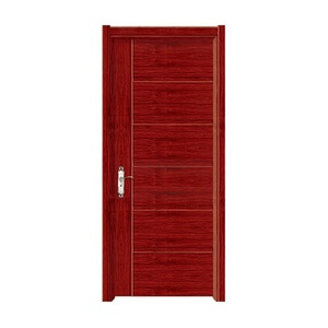 New design Project PVC hotel apartment wooden door