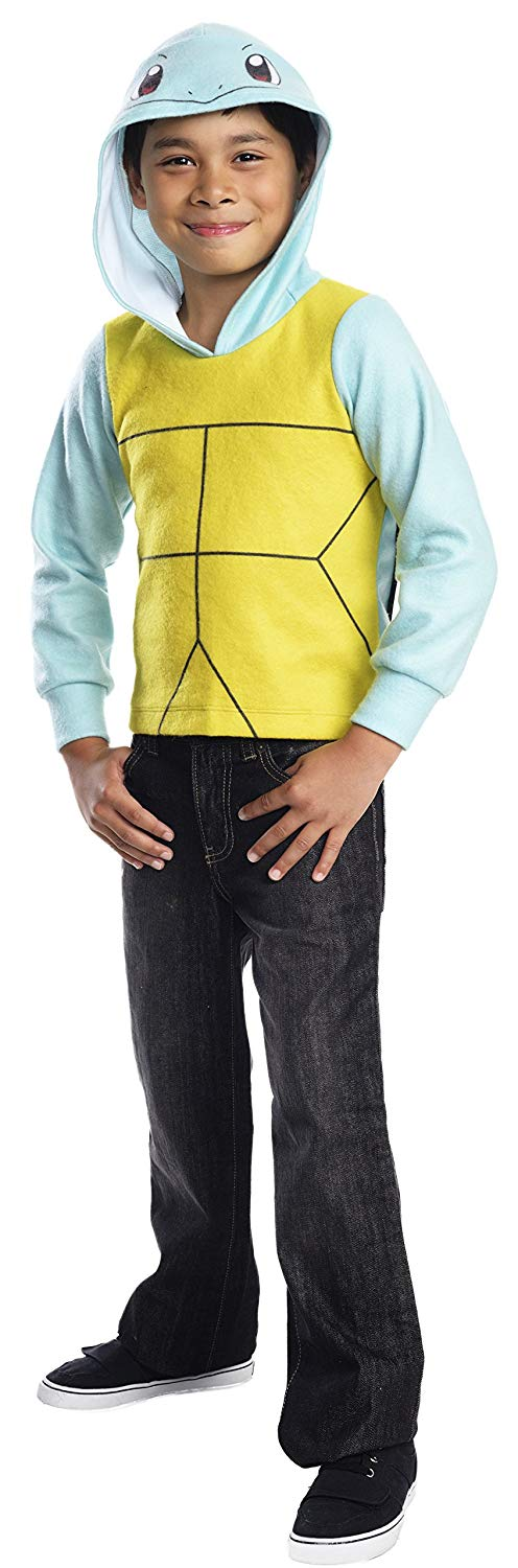 Rubie's Costume Pokemon Squirtle Child Novelty Hoodie Costume, Large