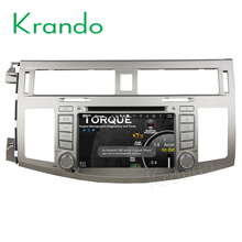 "Krando Android 7.1 7"" car pc navigation with gps for toyota avalon 2008-2010 car dvd player TV radio with bluetooth KD-TA708"