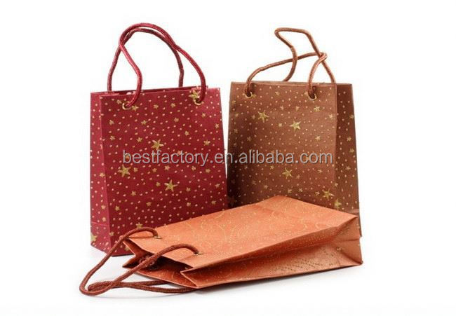 Big discount-heavy weight kraft paper bag 1409