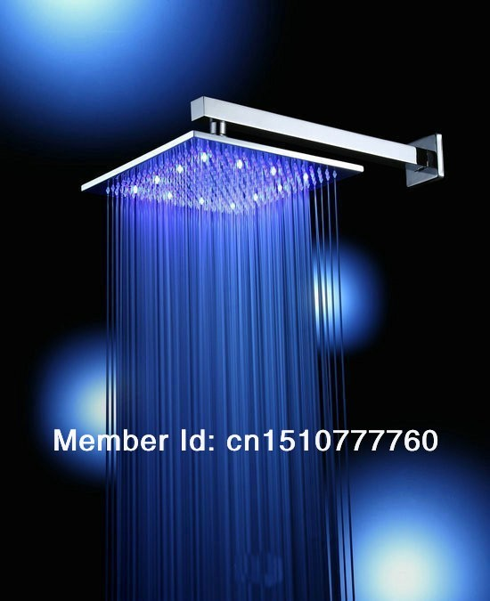 Bathroom Light Temperature: 2014 New High Quality LED Shower Head LED Lighting