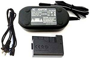 AC Adapter Kit ACK-E15 + DC Coupler DR-E15 for Canon EOS Rebel SL1 100D Kiss X7 ac