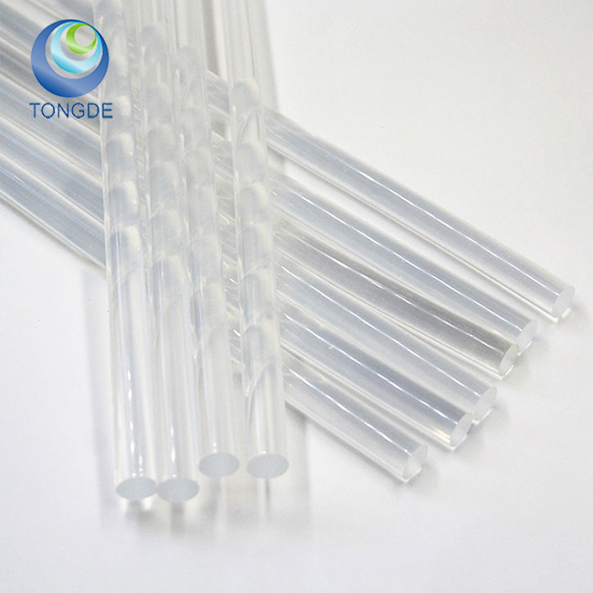 Tongde Brand Non-toxic Hot Silicone Glue Stick For Melter