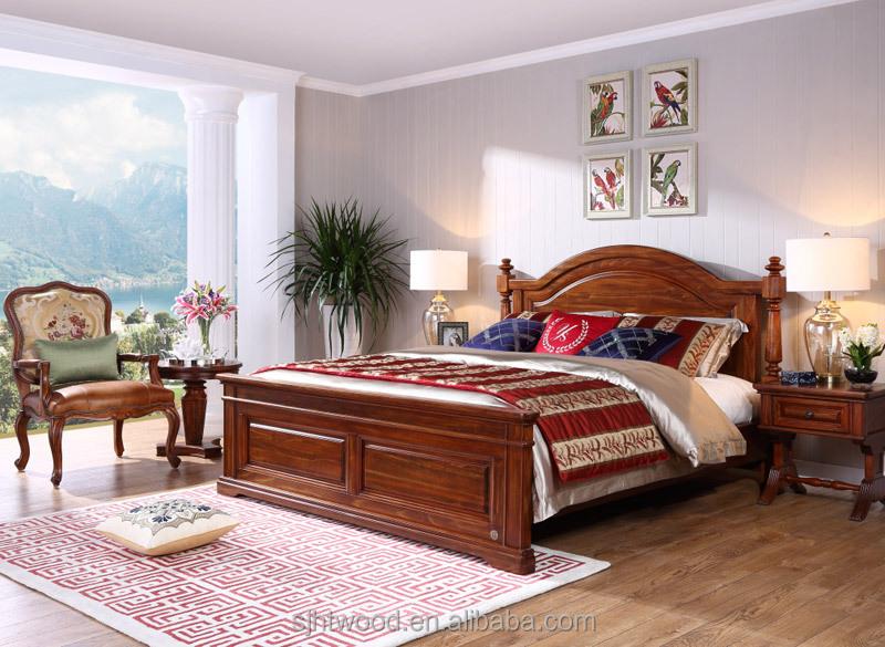neue amerikanische massivholz bett kingsize bett bett produkt id 60498572373. Black Bedroom Furniture Sets. Home Design Ideas