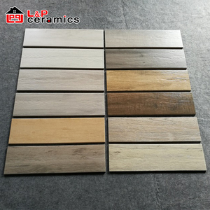 2018 Hot Sale Cheapest 15x60cm wood look ceramic floor tile