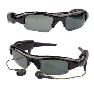 Hot Sale Eyewear Spy Camera MP3 Sunglasses with Video Camera spy camera glasses