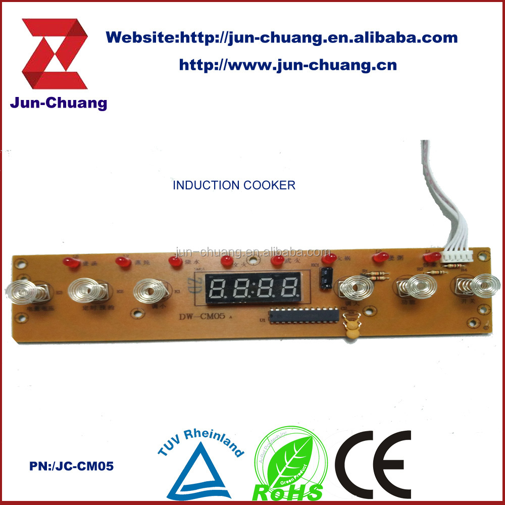 Copy Induction Cooker Circuit Board 94v0 Pcb Rohs Buy Rohsinduction Boardpcb Product On