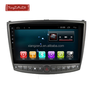 10.2 inch Android 6.0 RAM 2GB ROM32GB GPS Navigation With Bluetooth/TV/3G/WIFI/USB/Radio For LEXUS IS250/IS300 2006-2012