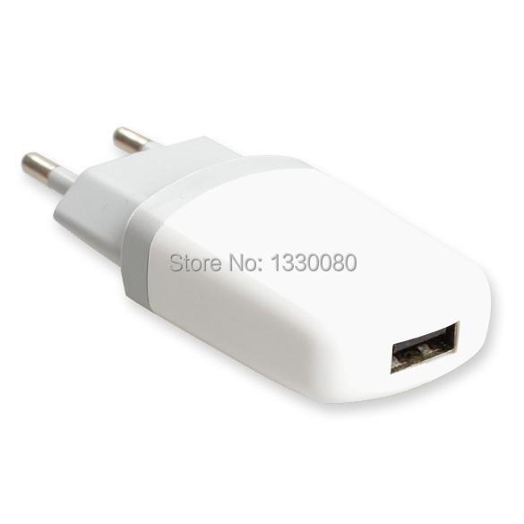 Новый! Высокое качество белый европейский / сша сетевой USB путешествие адаптер питания ес / сша штекер зарядки зарядное устройство E5M1